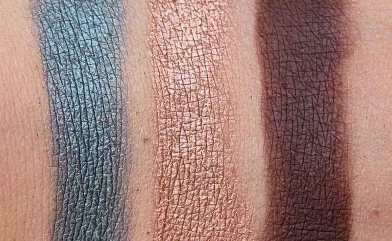 Estée Lauder summer glow eyeshadow palette swatch2
