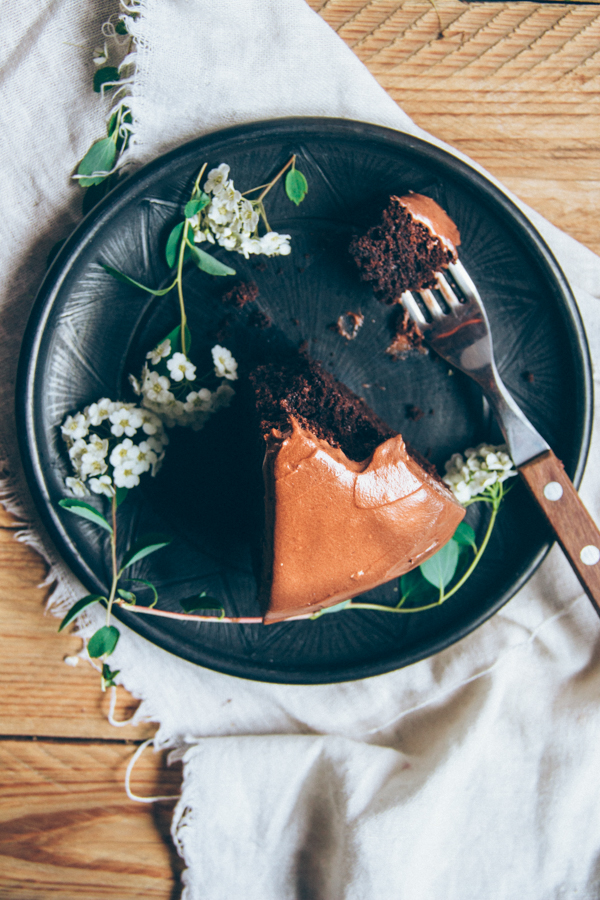 A Very Chocolate Mud Cake