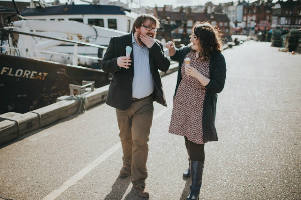 Samuel and Jacquina science of the proposal. Fox Socks London lifestyle blog