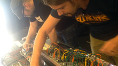PAUL / NICK Synth Duo at Bos Mod