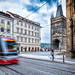 Tram Movement In Prague