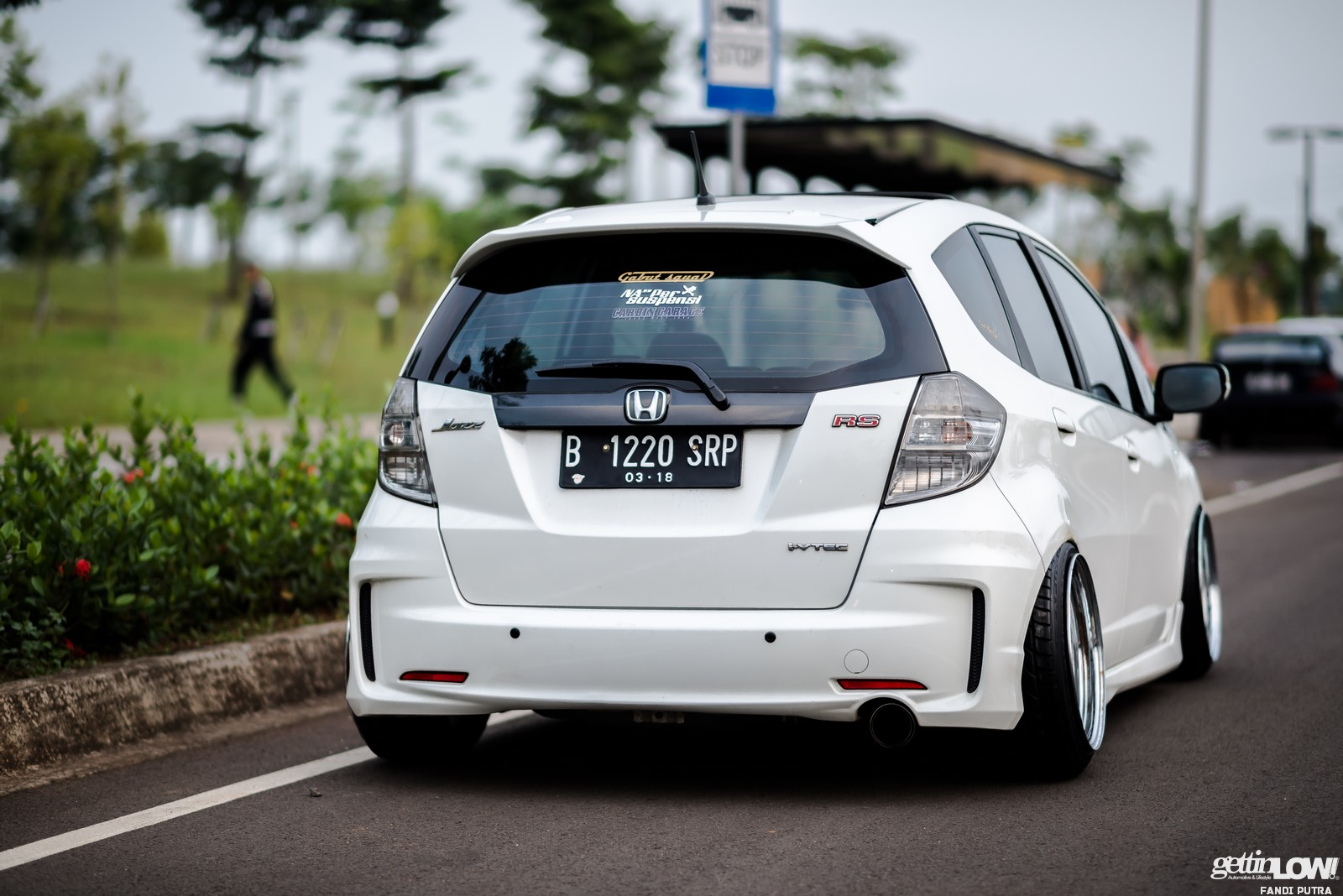 gettinlow | aditya nugraha: stanced 2013 honda jazz