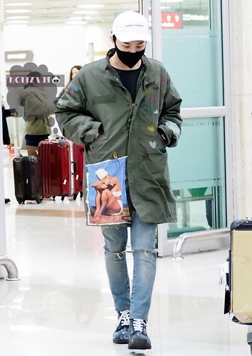 G-Dragon - Gimpo Airport - 02mar2015 - NoiizVip - 07