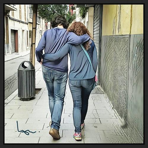 Amor verdadero #higoschungos #manacor #cariño #amor #yaya #paseo #buenosmomentos #mamis