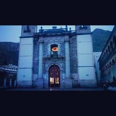 Santuario del Sr de Chalma.. De madrugada