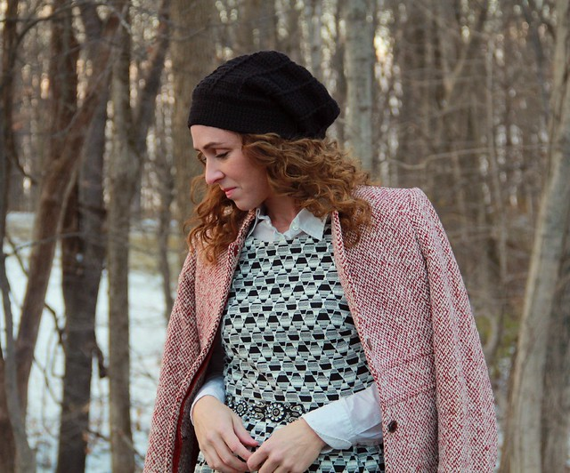 how to style cute modest outfits for winter via Kristina J blog