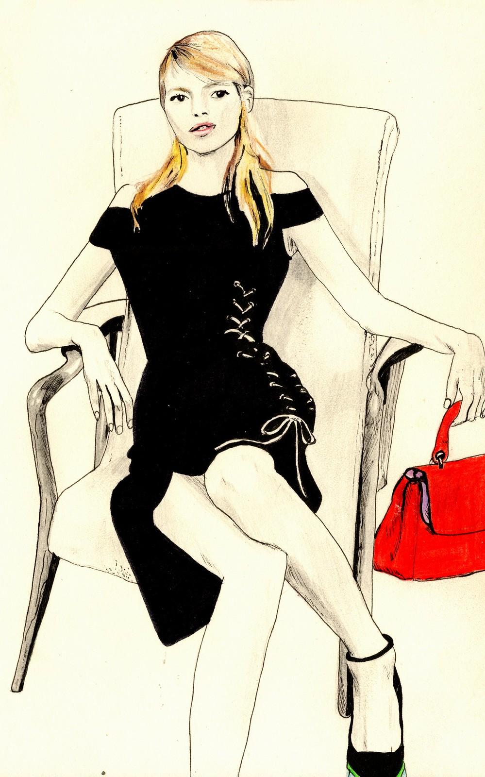 Sketchbook - Dior Ad