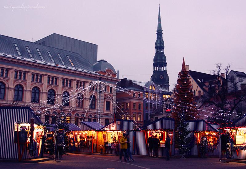 Christmas in Riga, Latvia