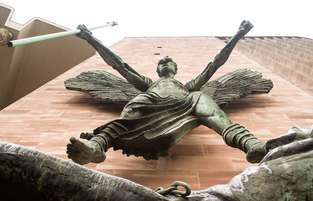 20141016-18_St. Michael's Victory over the Devil (Sir Jacob Epstein 1958)