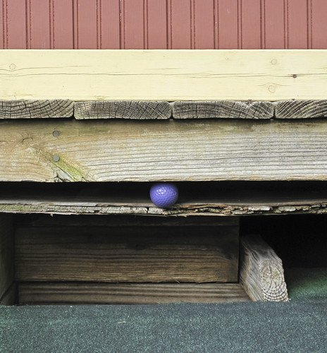 Westerville Mini-Golf: Best Shot Of The Day!