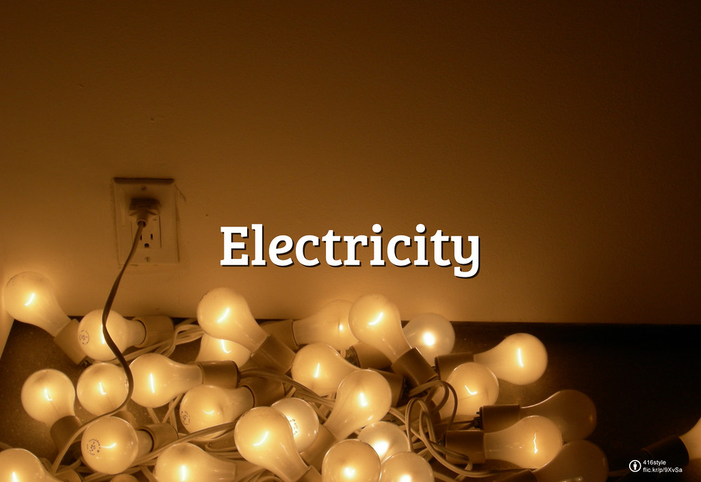 Flickr Friday:「電」#Electricity