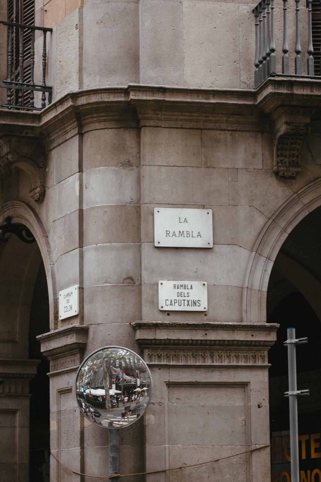 Places To Visit In Barcelona: La Rambla