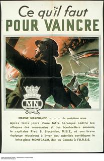 Ce qu'il faut pour vaincre ‒ Affiche de propagande de guerre / Men of Valor: They Fight for You – war propaganda campaign