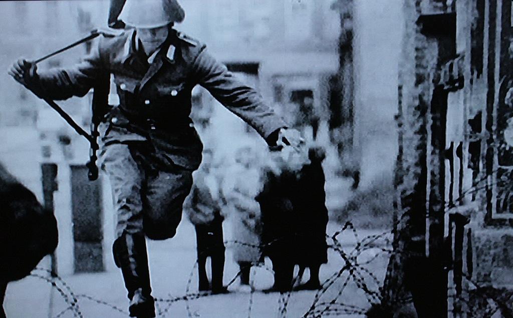 The Berlin Wall, November 9, 1989