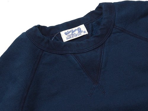 Velva Sheen / Indigo Crewneck Sweat