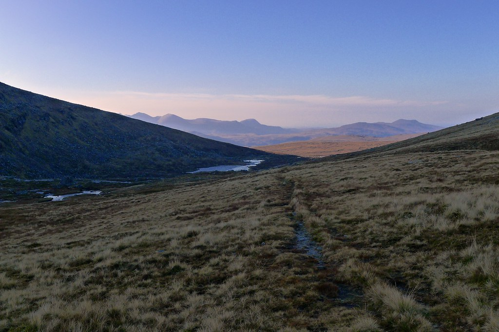 Track through Coire an Lochain Sgeirich