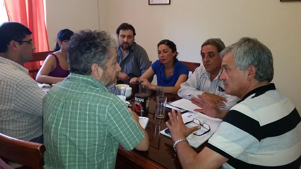 Reunión con Coordinadora Nacional de Trabajadores a Honorarios del SAG - 14 Enero 2014