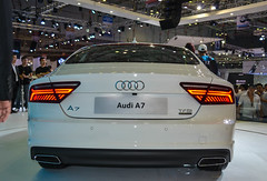 wheel(0.0), audi a5(0.0), automobile(1.0), automotive exterior(1.0), audi(1.0), executive car(1.0), audi a7(1.0), vehicle(1.0), automotive design(1.0), auto show(1.0), mid-size car(1.0), audi sportback concept(1.0), bumper(1.0), sedan(1.0), land vehicle(1.0), luxury vehicle(1.0),