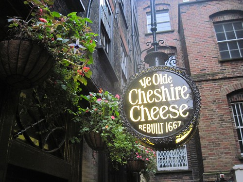 Treasure Hunt Walk - Ye Olde Cheshire Cheese