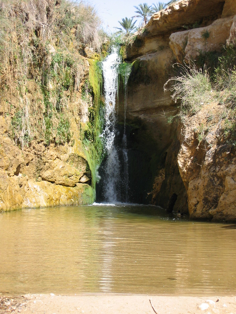 Tamerza Waterfall, Tunisia