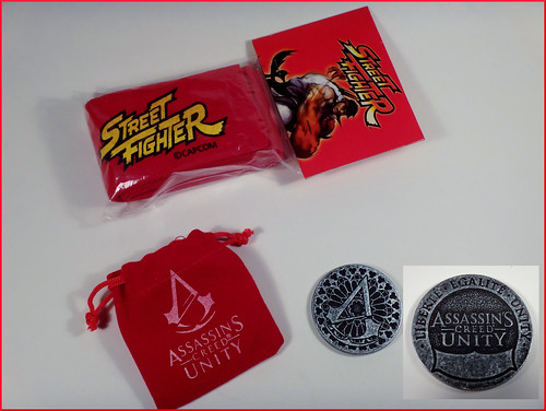 November 2014 Loot Crate Bandana & coin