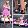 Pinup Pink Collage A