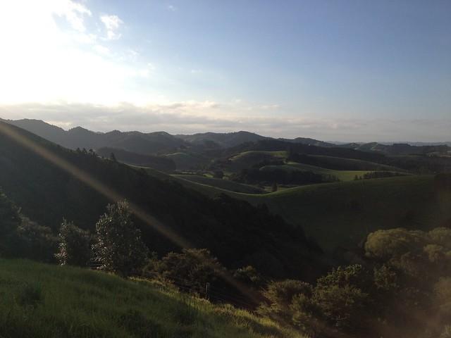 Patua - hills at sunset