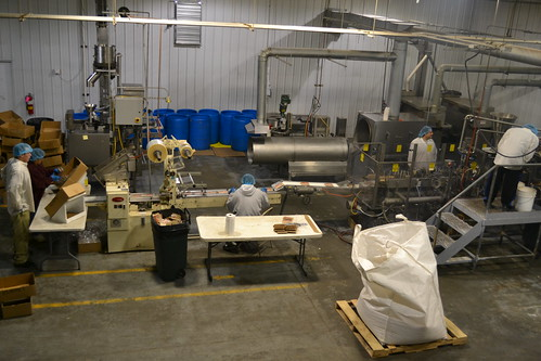 The processing plant at Lakota Foods in South Dakota, a Native owned company. Photo by Tammi Schone, USDA.