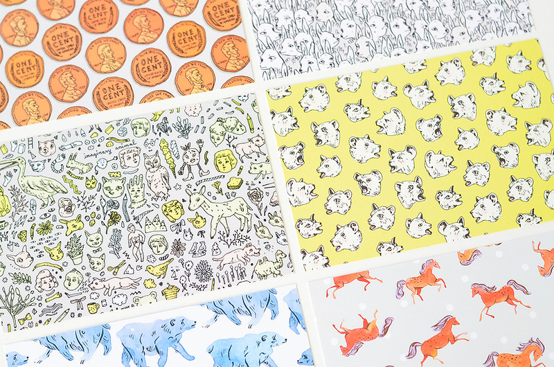 Pattern Postcard Set