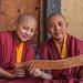 Monks or kids? Phuktal, Zanskar, India by sandeepachetan.com