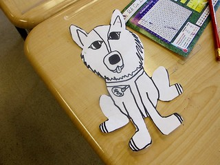 Iditarod Art Project for 4th Grade