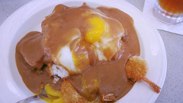 Havaijilainen ruoka Loco Moco