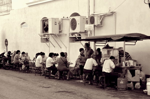 Eating by the Streets
