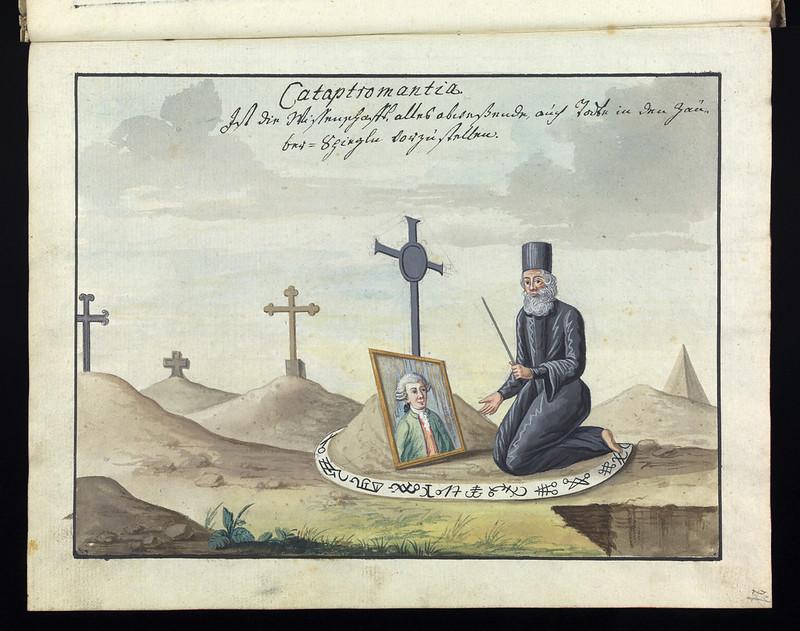 Compendium rarissimum totius Artis Magicae sistematisatae per celeberrimos Artis hujus Magistros - Folio 27 recto, 1766-1775