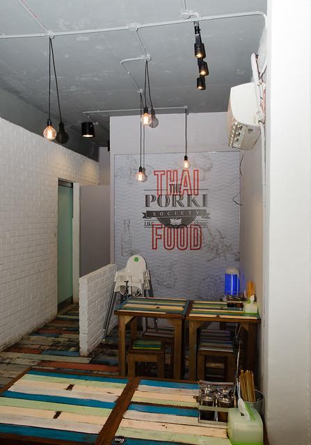 Inside The Porki Society at Sea Park, Petaling Jaya, an Extraordinary Thai Kitchen