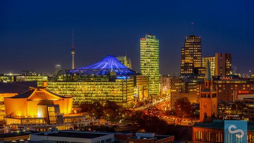 Berlin Potsdamer Platz Skyline