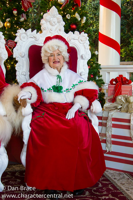 Meeting Santa and Mrs Claus