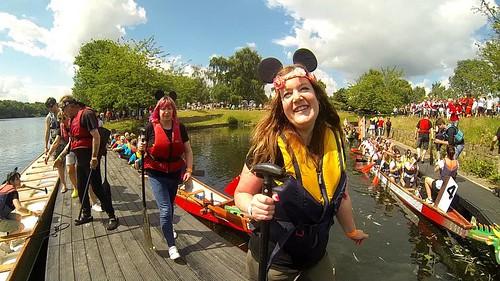 Dragon boat race, UK