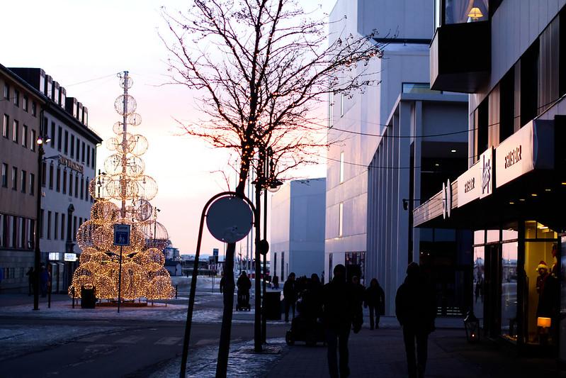 Julelys i Bodø
