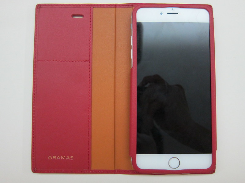 GRAMAS Full Leather Case - With iPhone 6 Plus