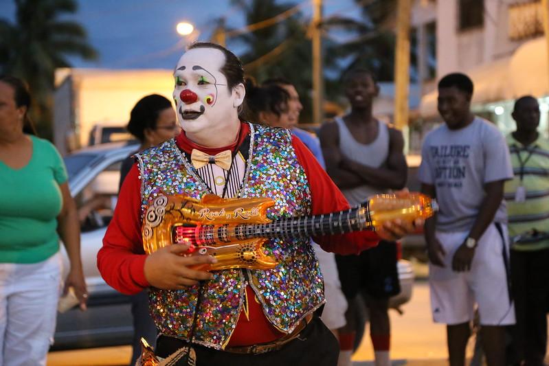 Belize City Christmas parade