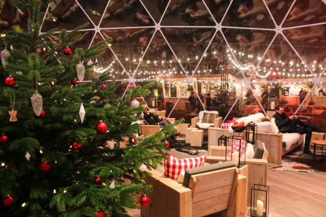 A Winter Food Market & Christmas Lounge