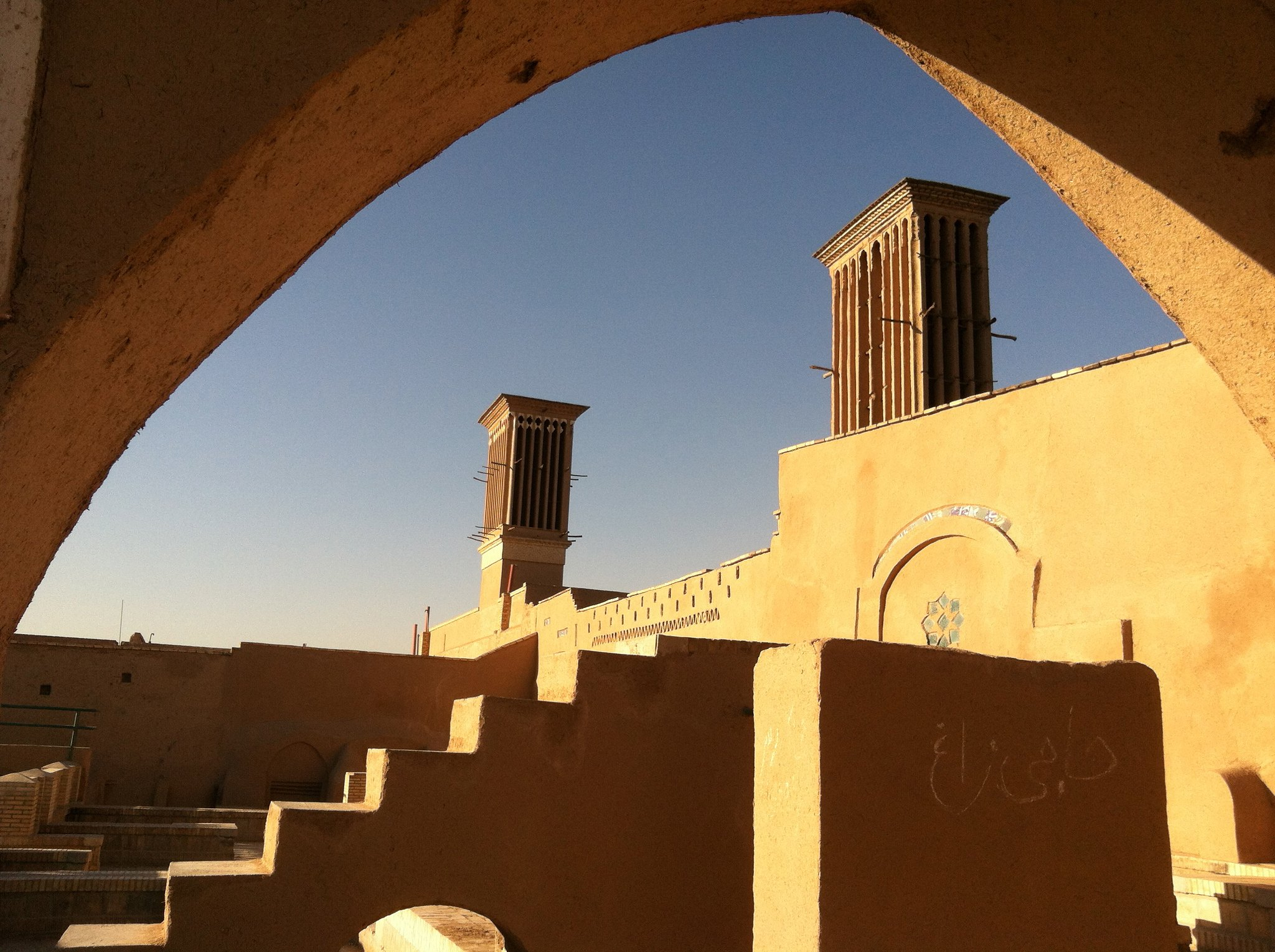 Wind Towers, Yazd, Iran
