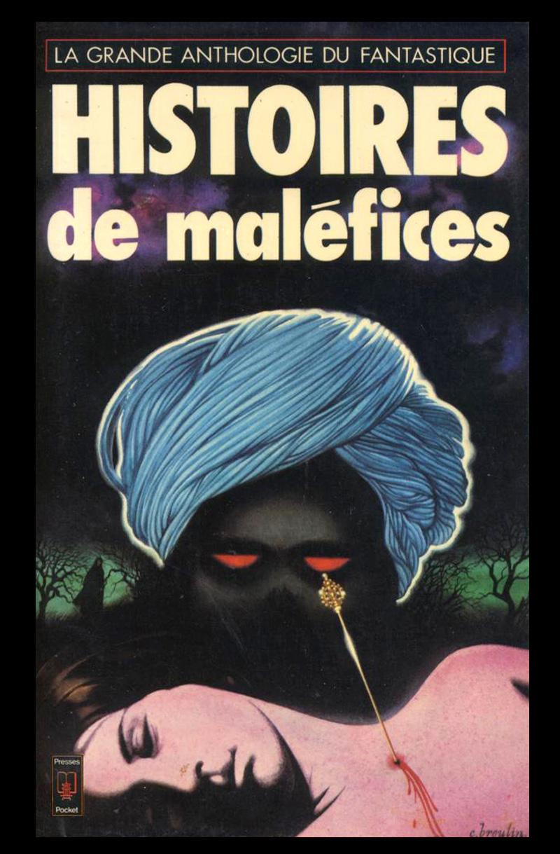 Christian Broutin - Cover Art, Histoires de Maléfices, 1981