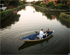 Venice Canals Rowboat (two people)