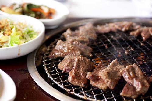 banchan @ dong bang grill