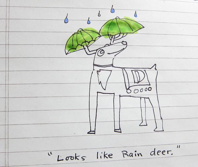 Rain, dear