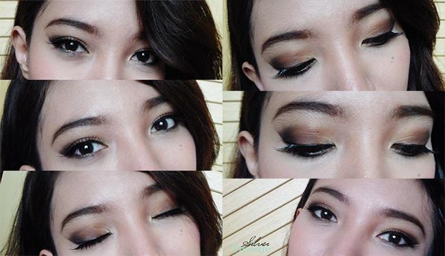 FOTD Brown Smokey Eye Makeup Look
