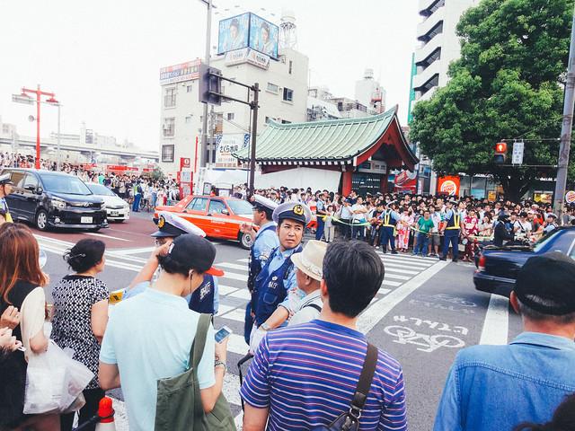 The 36th Sumidagawa Fireworks Festival: Kaminarimon Street