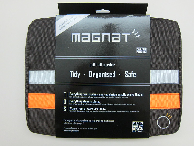 Magnat Carrier Bag - Packaging Front
